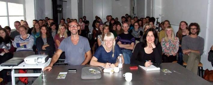 Academiebezoek LUCA Antwerpen | alle deelnemende studenten aan het Leerling/Meesterproject 2013-2014