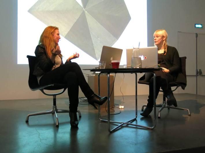 Meestergesprek Marleen Hartjes met Lotte Geeven, Museum De Pont