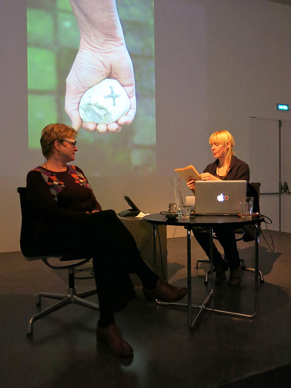 Meestergesprek Marleen Hartjes met Carina Diepens , Museum de Pont