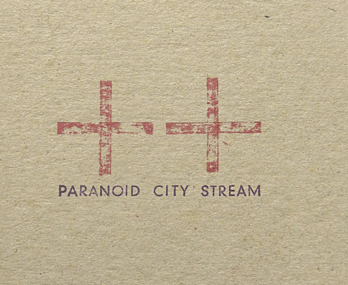 PCS cover closeup | Paranoid City Stream | Karin van Pinxteren | 2000