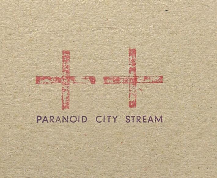 PCS cover closeup | Paranoid City Stream | Karin van Pinxteren | 2000
