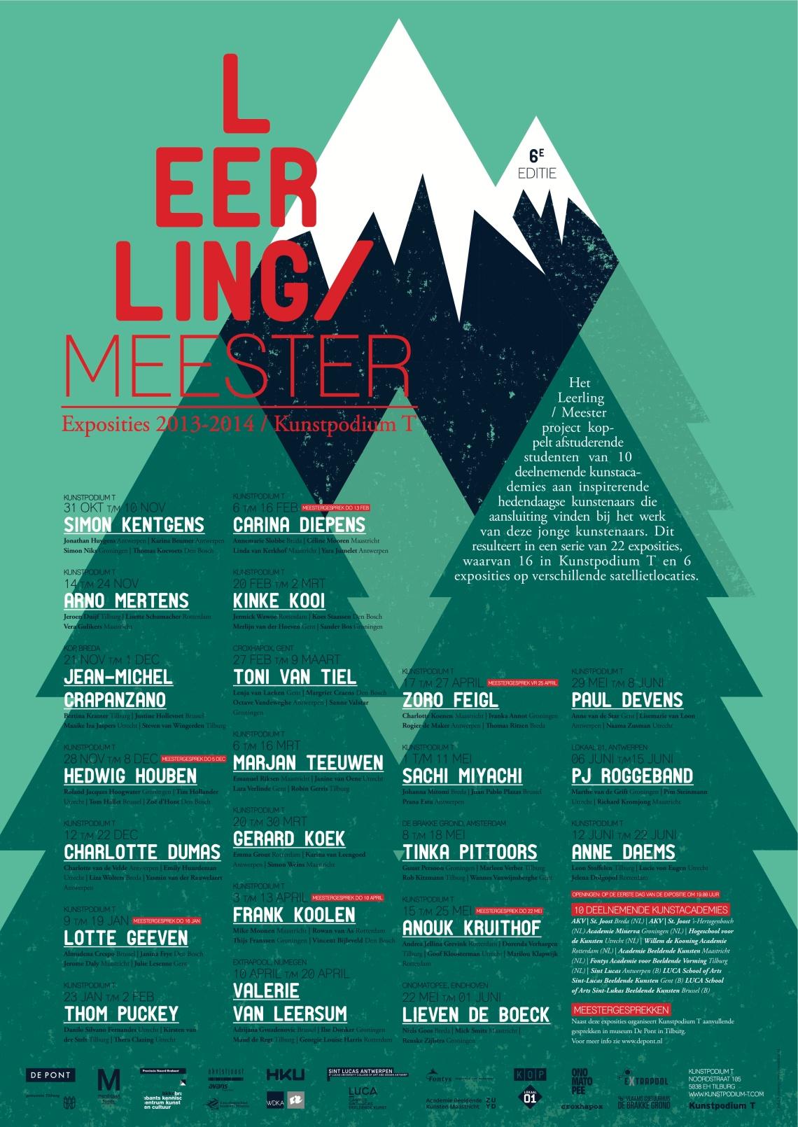 Poster LeerlingMeester 2013-2014