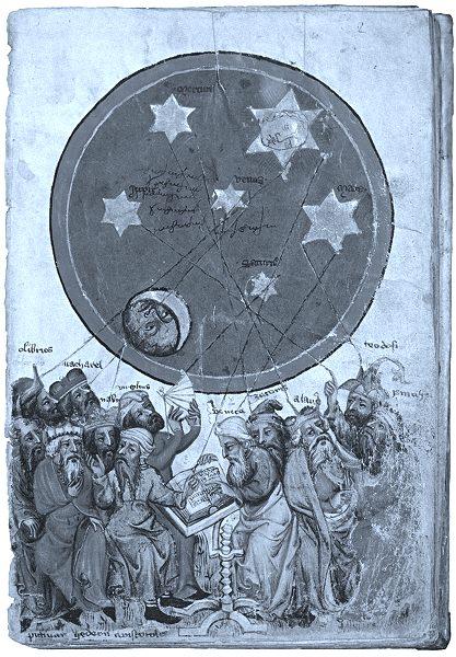15th century book-illustration scientists