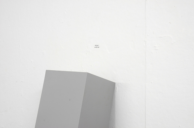 Inhale with me   Grey Area Gallery Brighton   2011   photo by Bernard G Mills