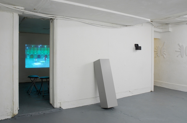 overview Grey Area Gallery Brighton | Karin van Pinxteren | 2011 | photo Bernard G Mills