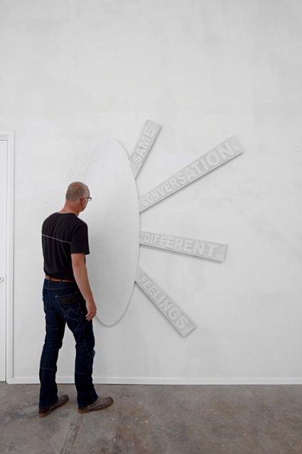 Same conversation, different feelings | Karin van Pinxteren | 2009-2011 | photo by Ruud Ploeg