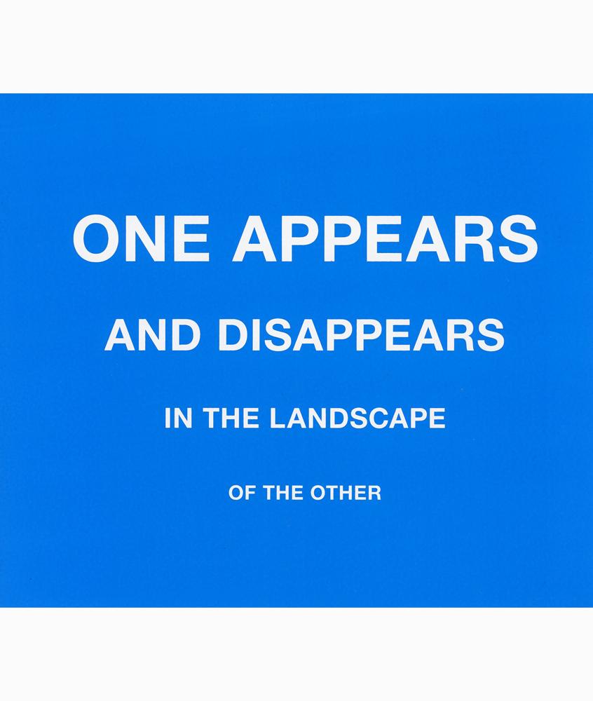 One appears... Karin van Pinxteren | silkscreen | 2012