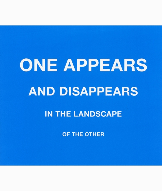 One appears... Karin van Pinxteren | silkscreen | 2012
