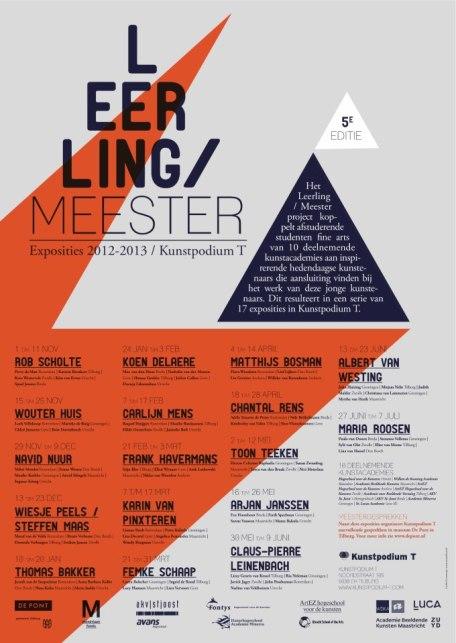 Leerling/ Meester project Kunstpodium T, Tilburg