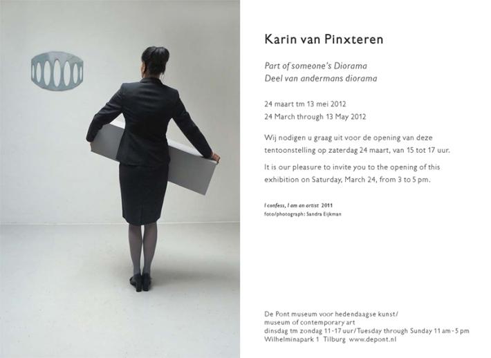 Museum De Pont invitation Karin van Pinxteren