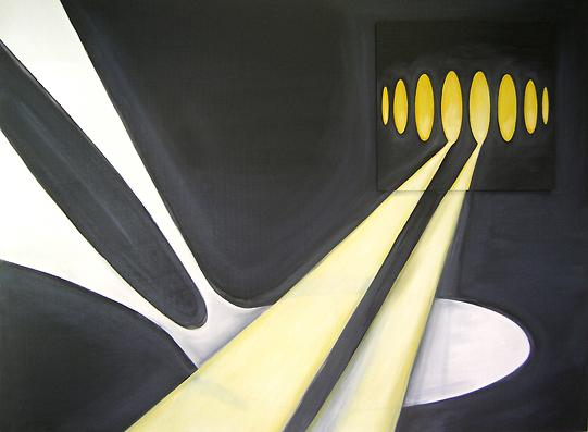 Platform 1 | painting | oil on wood | 123 x 166 cm | 2005-2009