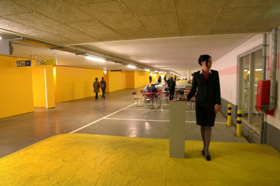 Collector | Karin van Pinxteren | performance 2009 | photo by Witold de Man