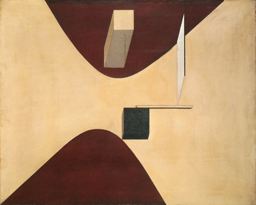 El-Lissitzky_ Proun-P23-no6_1919_collectionVAM_photoPeterCox_DeKosmos_2311