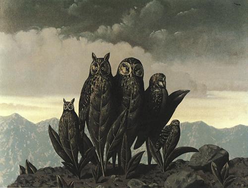 Magritte Les compagnons de la peur, 1942