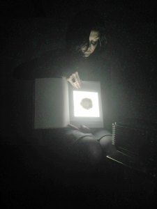 'Paper is as cosmic as the universe (chapter 1)' | Karin van Pinxteren | KKN25 / GR1011 | Photo by Rob Groot Zevert