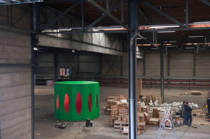 fabrication of La chambre de Catherine photo Guus Rijven