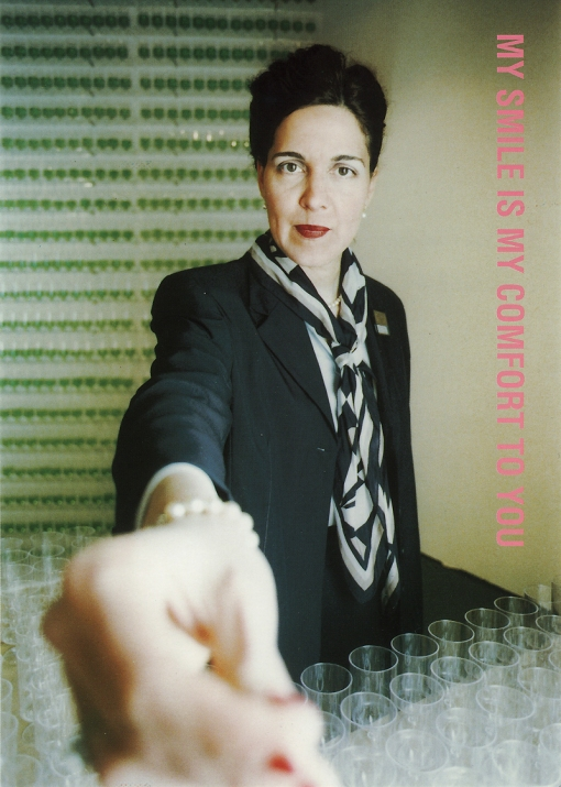 My smile is my comfort to you | Karin van Pinxteren | HOTEL Nijmegen | 2000 | Photo CMYK International