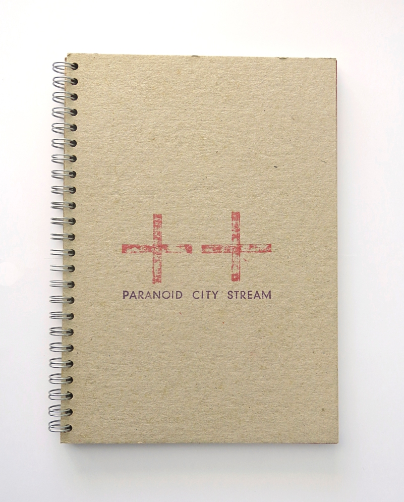 Paranoid City Stream - cover   Karin van Pinxteren   2000