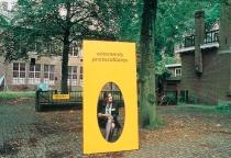 Vêtements Protocollaires   Hostess performance  Karin van Pinxteren   Argument, Tilburg   2000