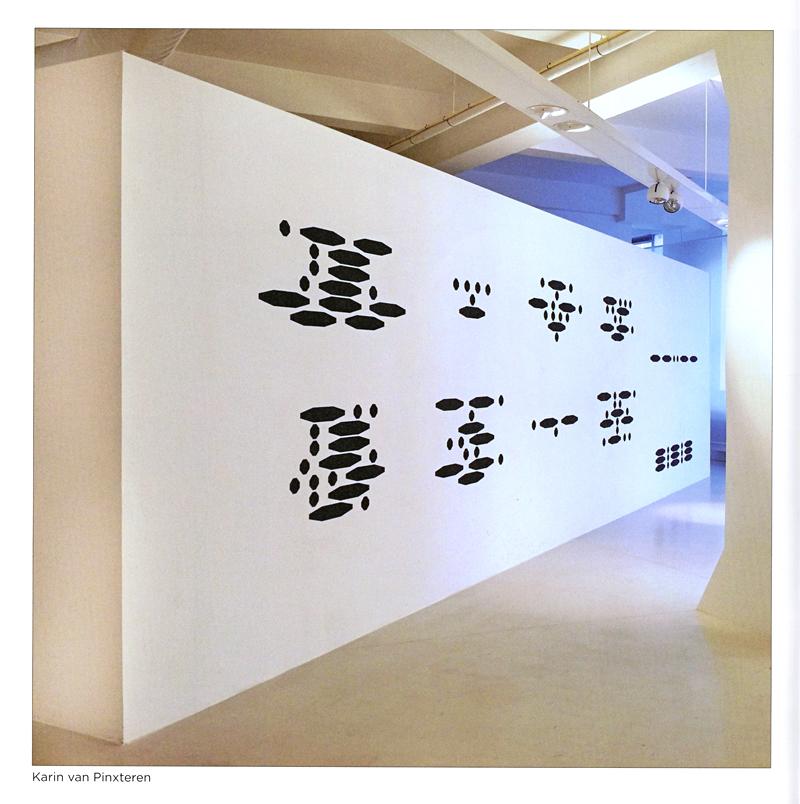 Karin van Pinxteren Abstract Wall Painting publicatie